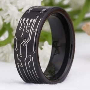 Circuit Board Design Tungsten Ring
