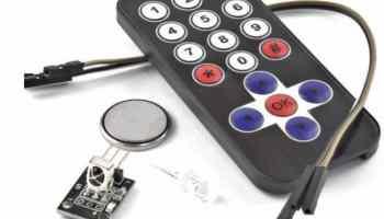 ir receiver with IR remote