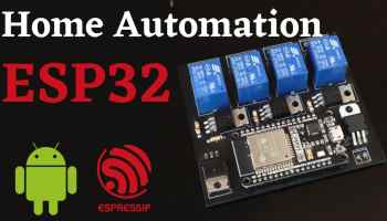 esp32 home automation web server
