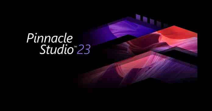 Image of the Pinnacle Studio 23 logo.