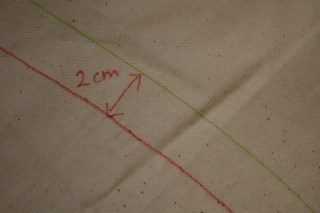 Or you could try adding in a bit extra manually, and marking it on your toile.