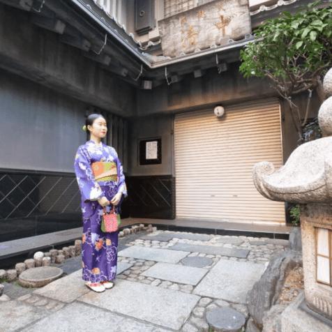 Asakusa: Kimono Makeover with Photoshoot Tour