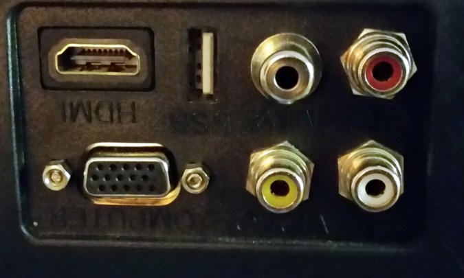 TV input ports