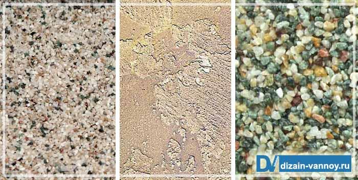 e78dab9dc95140 Minerale decoratieve pleister omvat cement en kalk. Voeg ook gemalen marmer  toe om de textuur te geven. Hoe groter de marmeren stukken, hoe dieper het  ...