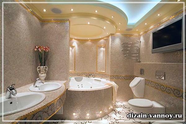 Красивые ванные комнаты - фото дизайна и интерьеров