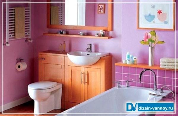 Чем отделать стены в ванной комнате - варианты настенных ...
