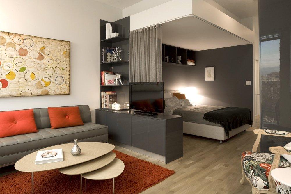 Kaksi huonetta yhdessä suunnittelussa