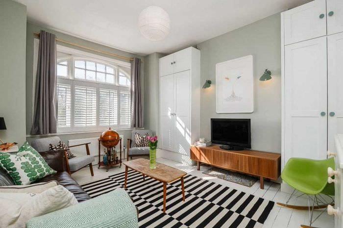 13e179e0370b Najkrajšie obývacie izby. Dizajn obytných miestností rôznych veľkostí