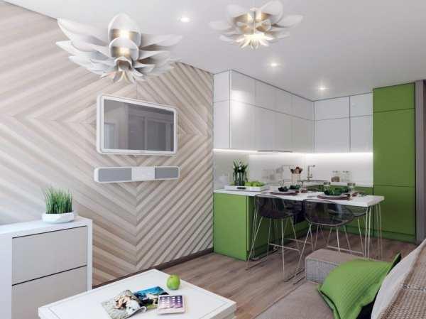 Кухня-гостиная 14 кв. м.: 50 фото идей дизайна интерьера с ...