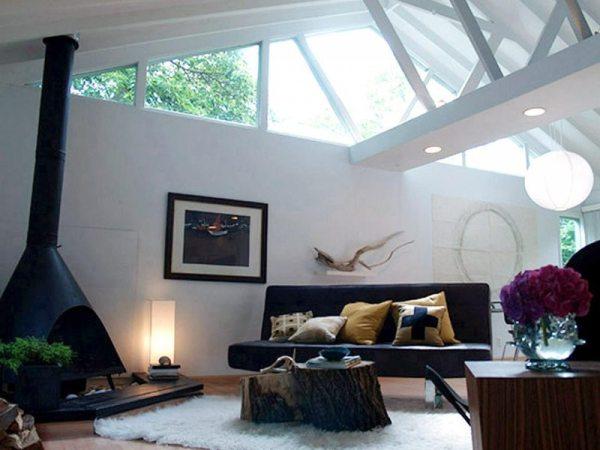 Отделка потолка в гостиной - 81 фото лучших идей стильного ...