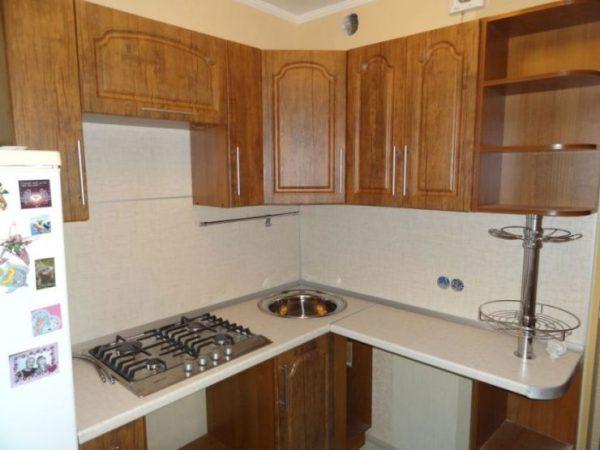 Кухня в хрущевке 80 фото идей удобного и функционального