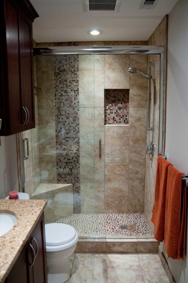 Маленькая ванная комната - 95 фото идеального сочетания в ...