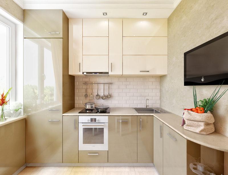 маленькие кухни дизайн фото 5