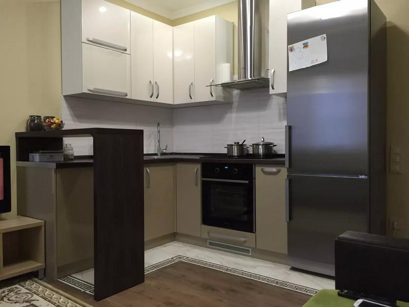 кухни угловые с барной стойкой дизайн фото 6