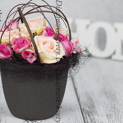 Luxusné ruže v originálnych farbách.