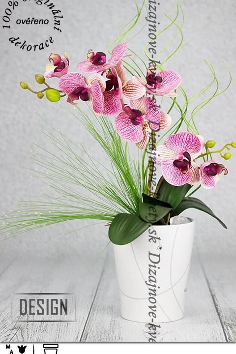 Luxusná dekorácie s orchideí