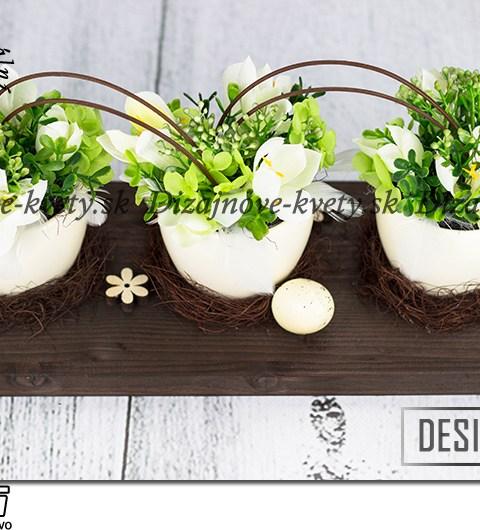 Dizajnová luxusná jarná dekorácie