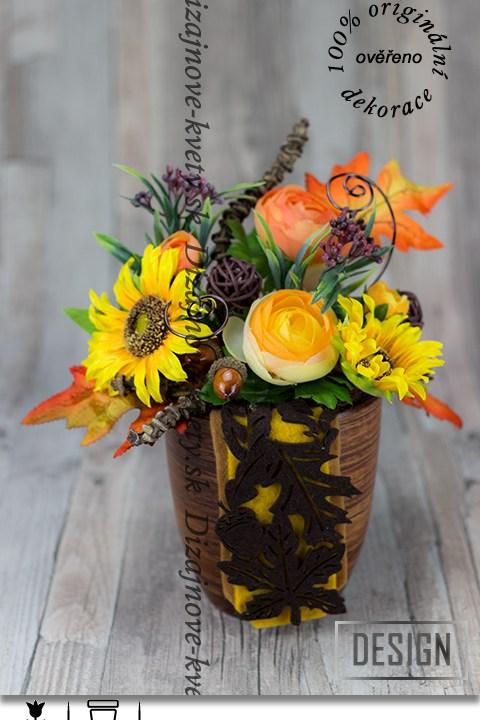 jesenné, slnečnica, drevený, dizajn, farebný