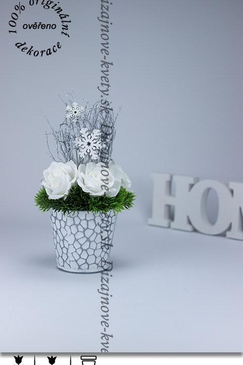 ruže, vianočné dekorácie, dizajnová dekorácie, vintage štýl