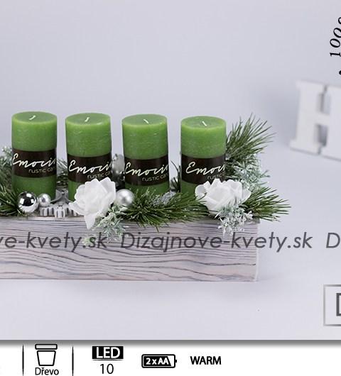 dizajnový svietnik, vianočný svietnik, bytový dizajn, dizajnové sviečky