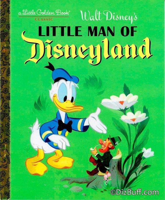 Little man of disneyland book cover Disneyland leprechaun