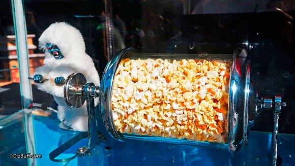 Popcorn turner Yeti Abominable Snowman Harold at Matterhorn Bobsleds Disneyland Roastie Toastie
