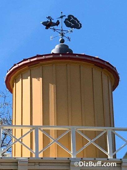 Goofys Sky School weather vane in Disney California Adventure Park Disneyland Resort