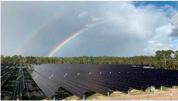 Walt Disney World Solar Farm on State Rd 429
