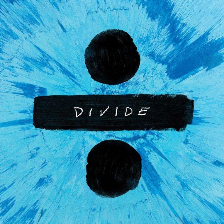 #3 Ed Sheeran - ÷ - 105 plays