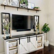 20 + Home Decor Ideas Living Room Rustic Farmhouse Style Ideas 49