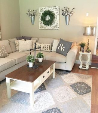 23 + Reason You Didn't Get Farmhouse Decor Living Room Rustic Wall 14