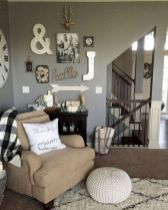 23 + Reason You Didn't Get Farmhouse Decor Living Room Rustic Wall 23