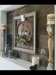 23 + Reason You Didn't Get Farmhouse Decor Living Room Rustic Wall 26
