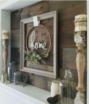 23 + Reason You Didn't Get Farmhouse Decor Living Room Rustic Wall 46