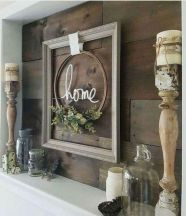 23 + Reason You Didn't Get Farmhouse Decor Living Room Rustic Wall 46