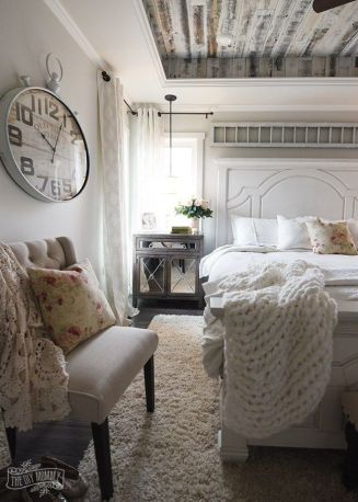 25+ Most Popular Master Bedroom Ideas Rustic Romantic Country 12