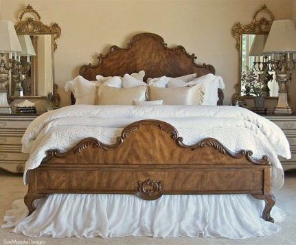 25+ Most Popular Master Bedroom Ideas Rustic Romantic Country 24