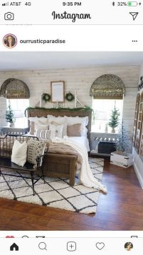25+ Most Popular Master Bedroom Ideas Rustic Romantic Country 30