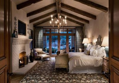 25+ Most Popular Master Bedroom Ideas Rustic Romantic Country 48