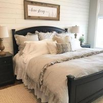 25 + That Will Motivate You Master Bedroom Ideas Rustic Farmhouse Style Bedding 15