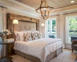 25 + That Will Motivate You Master Bedroom Ideas Rustic Farmhouse Style Bedding 23
