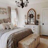 25 + That Will Motivate You Master Bedroom Ideas Rustic Farmhouse Style Bedding 28