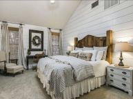 25 + That Will Motivate You Master Bedroom Ideas Rustic Farmhouse Style Bedding 8