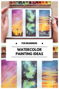 33 + Most Popular Ways To Watercolor Paintings Easy Step By Step Flower 32