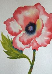 33 + Most Popular Ways To Watercolor Paintings Easy Step By Step Flower 78
