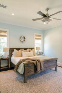 50+ Unbelievable Master Bedroom Ideas Rustic Farmhouse Style Decor 12