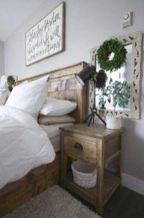 50+ Unbelievable Master Bedroom Ideas Rustic Farmhouse Style Decor 39