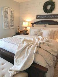 50+ Unbelievable Master Bedroom Ideas Rustic Farmhouse Style Decor 68