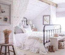 50+ Unbelievable Master Bedroom Ideas Rustic Farmhouse Style Decor 77