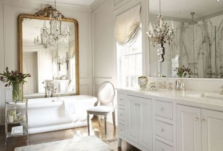 The Secret To French Country Bathroom 107